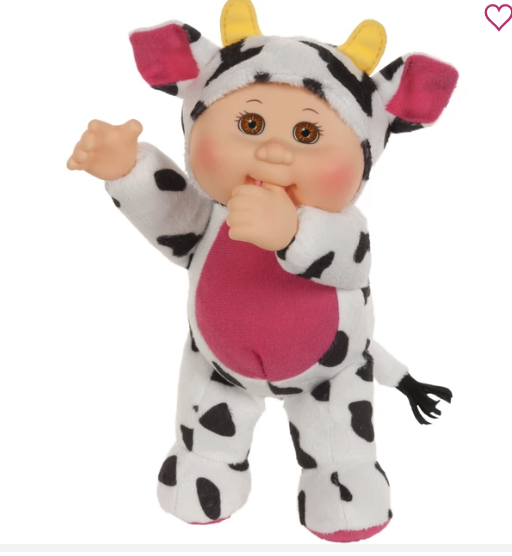 "9"" Cutie Farm Friend Cow Clara"