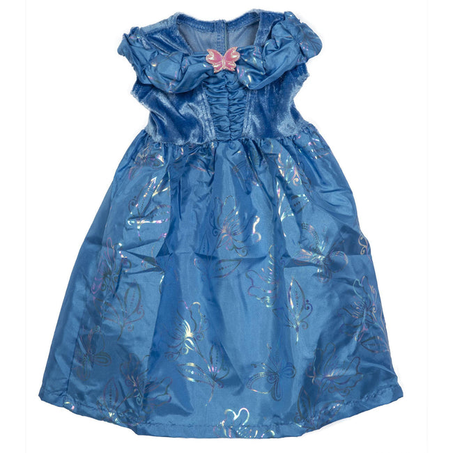 Lil Cinderella Butterfly Doll Blue Dress 17""