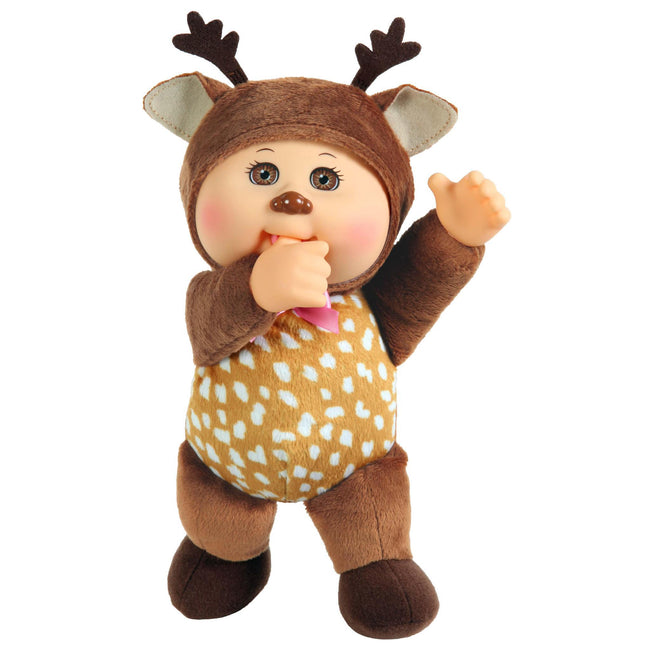 "9"" Cutie Forest Friends Deer Sage"
