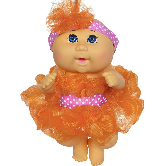"9"" Scrubby Time Tiny Newborn Bl Bald Orange Fashion"