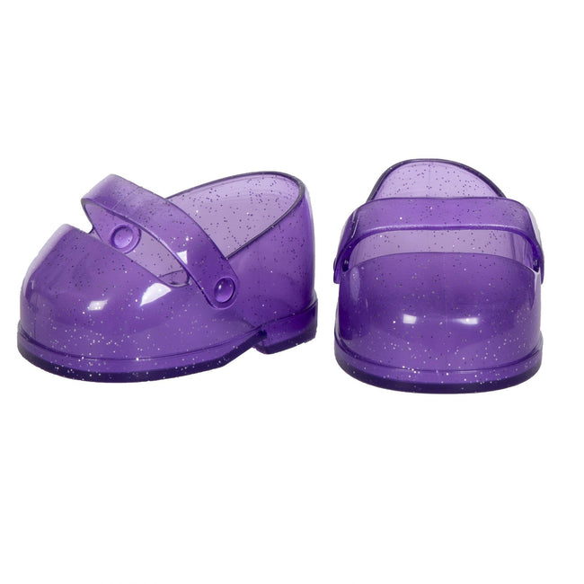 CPK Shoes Purple Glitter Mary Jane