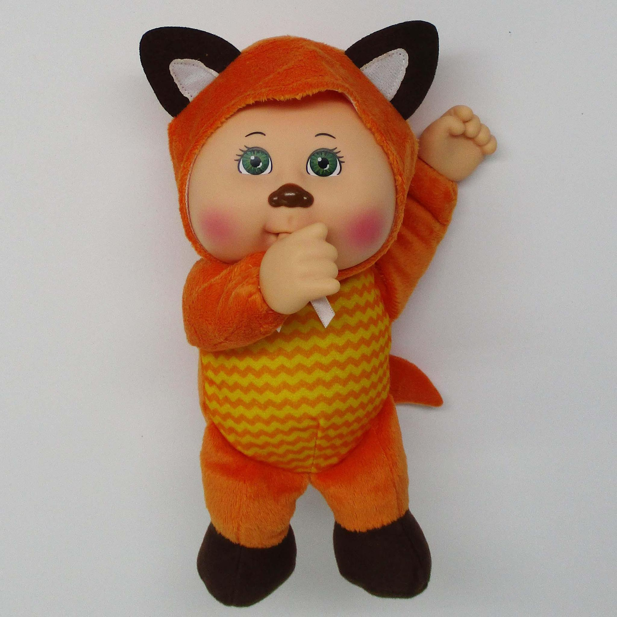 "9"" Cutie Woodland Friends Lt Gr Fox Beau"