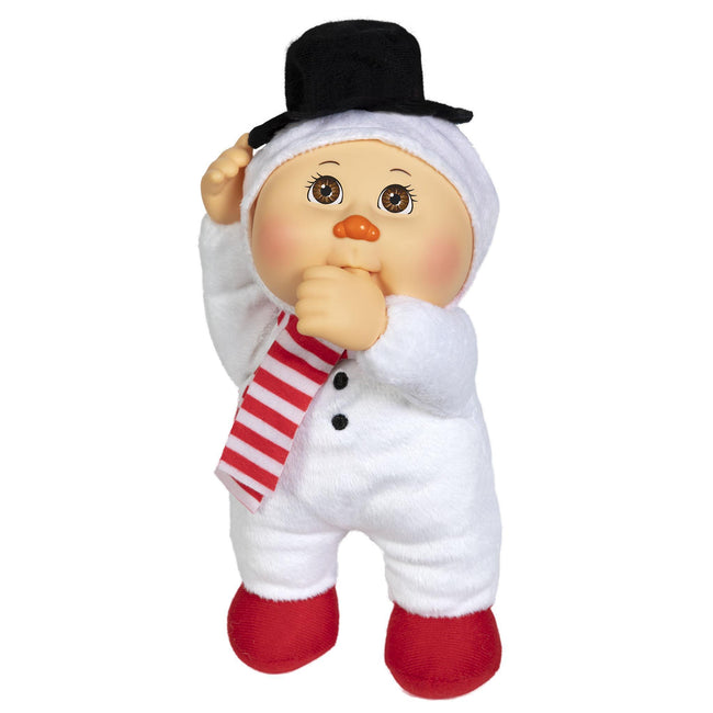 "9"" Helper Holiday Lt Br Snowman Aspen"
