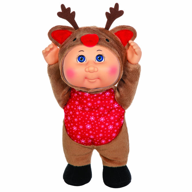 "9"" Helper Holiday Lt Br Reindeer Rhett"