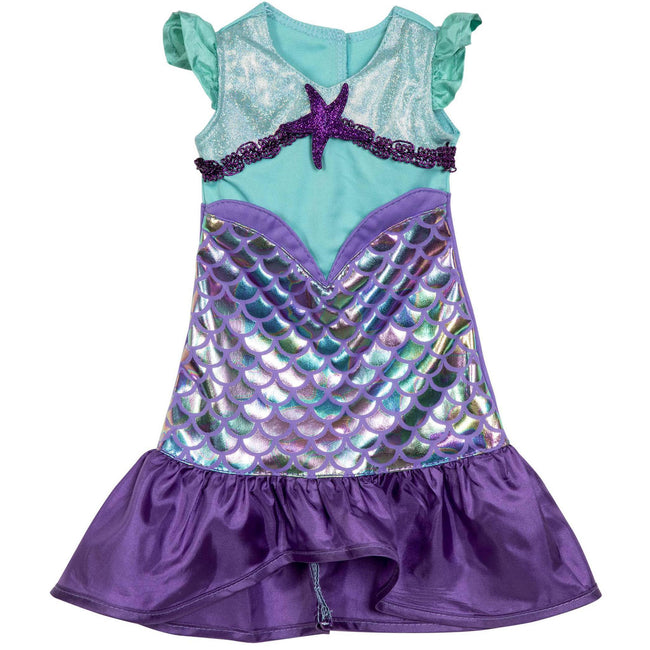 Lil Sparkle Mermaid Purple Dress