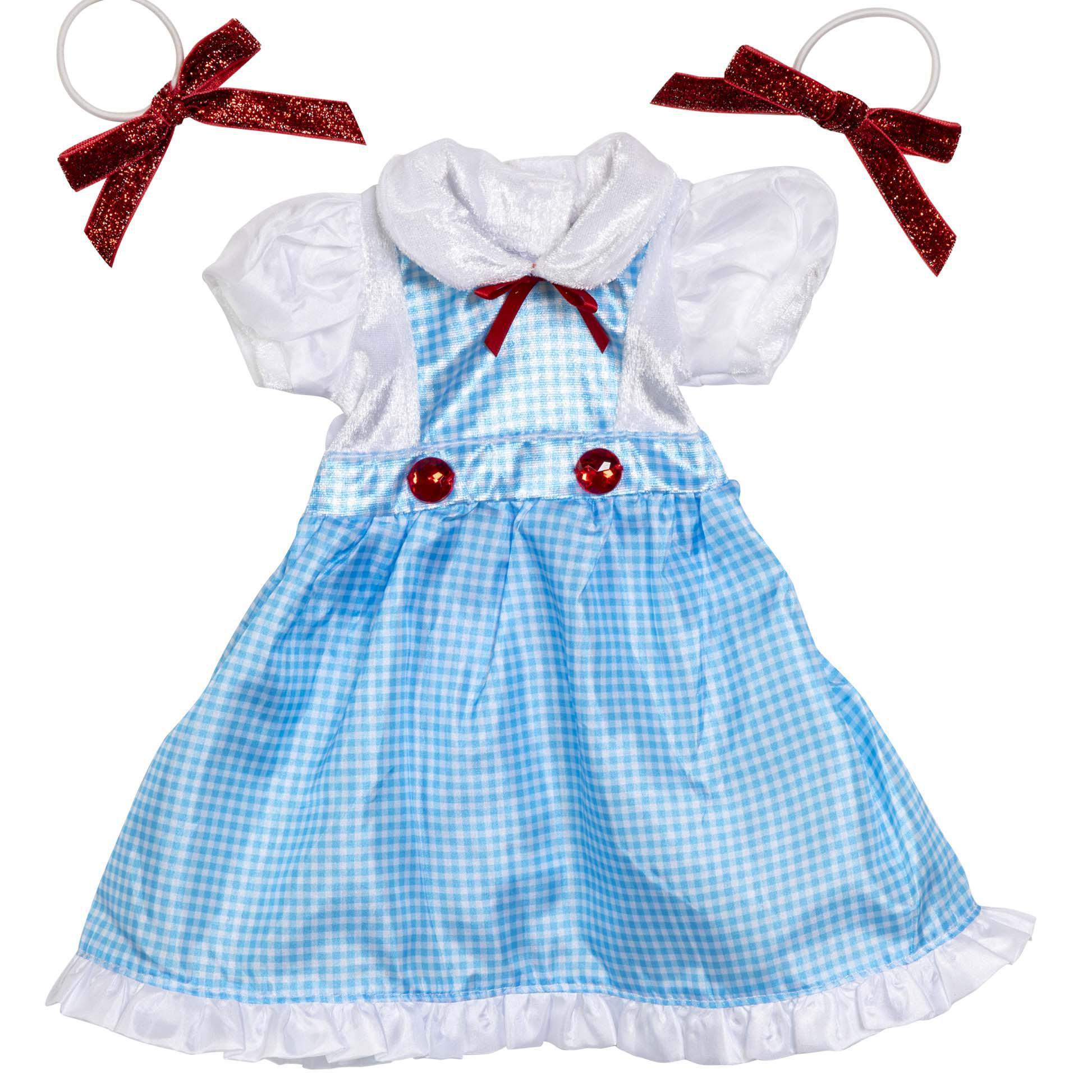 Lil Kansas Girl with Bows Dress