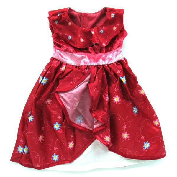 Lil Spanish Princess Dress Red 17-20""