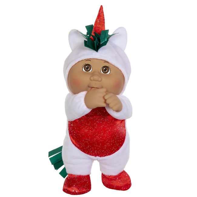 "9"" Helper Holiday Lt Bl Unicorn Sugarplum"
