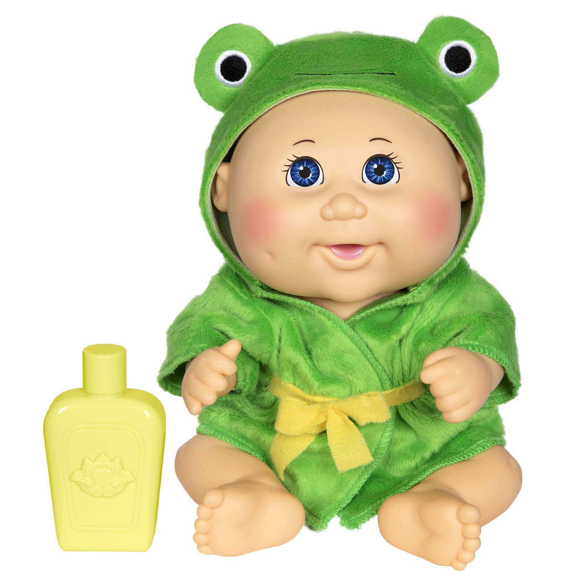 "9"" Bubble 'N Bath Lt Bl Frog"