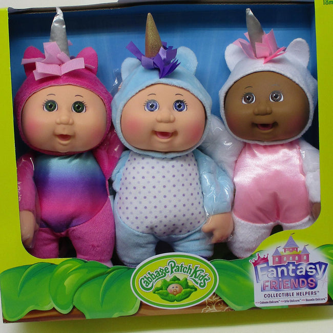 3 Pack Fantasy Helper Unicorns
