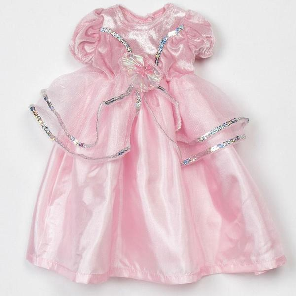 Lil Pink Princess Dress Fits 17-20""