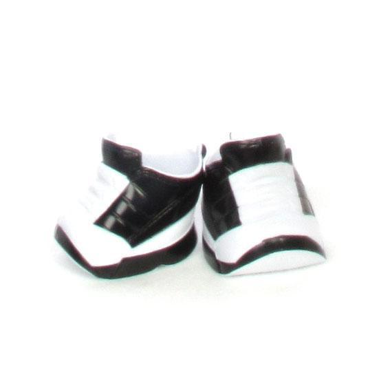 "CPK Black/White Sneakers Fit 14""-20"""