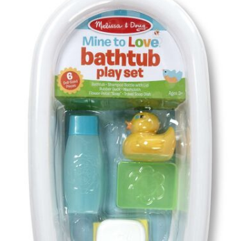 Bathtub Playset White