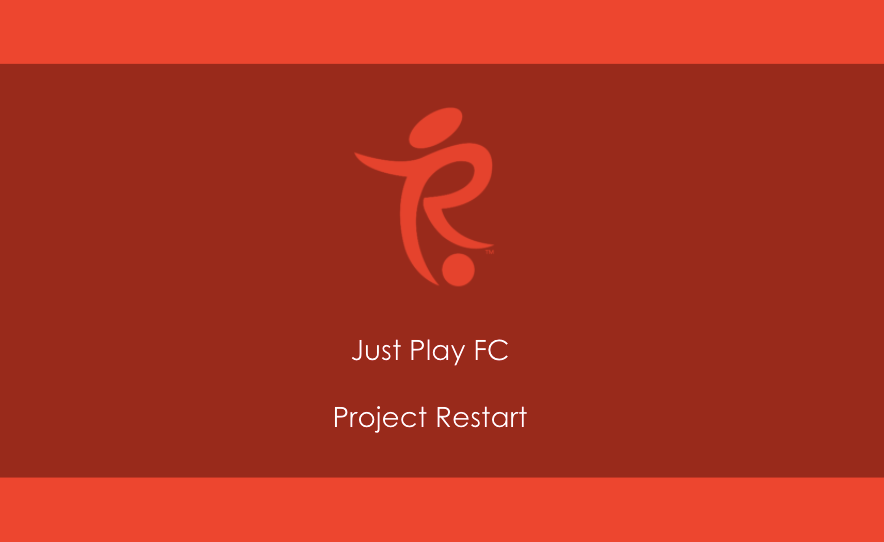 Just Play Restart Programme football club training kids muswell hill highgate crouch end practice north london summer