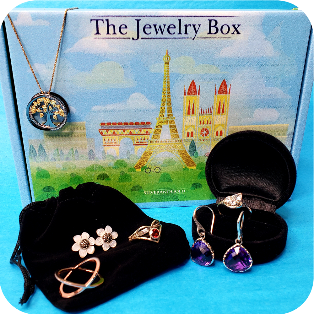 The Jewelry Box Monthly Jewelry Subscription