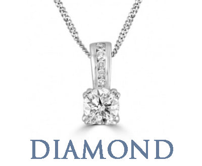Diamond Necklaces Pendants SilverAndGold