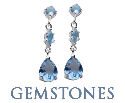 FASHION GEMSTONE EARRINGS