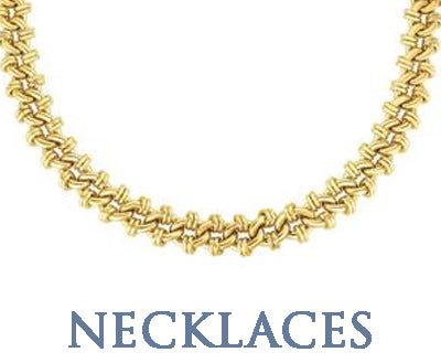 SOLID GOLD NECKLACES