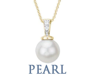 Pearl Necklaces Pendants SilverAndGold