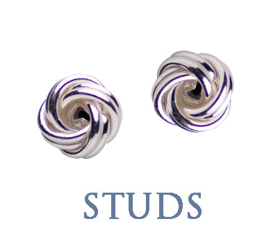 FASHION STUD EARRINGS SILVERANDGOLD