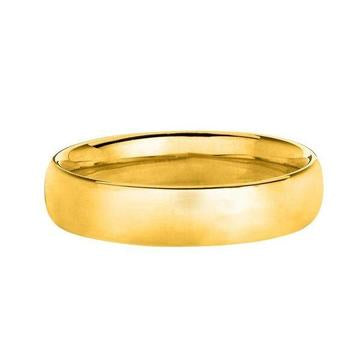 Solid 14K Yellow Gold Band | SilverAndGold