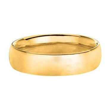 Solid 14K Yellow Gold Band 8MM