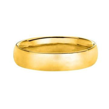 Solid 14K Yellow Gold Band 6MM