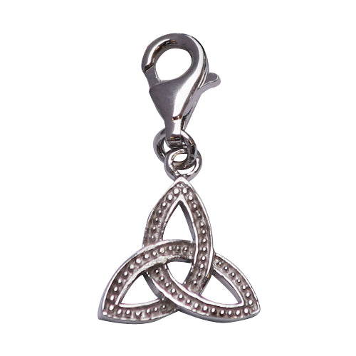 Sterling Silver Trinity Design Charm - SilverAndGold.com Silver And Gold