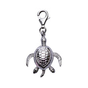 Sterling Silver Turtle Tortoise Charm - SilverAndGold.com Silver And Gold
