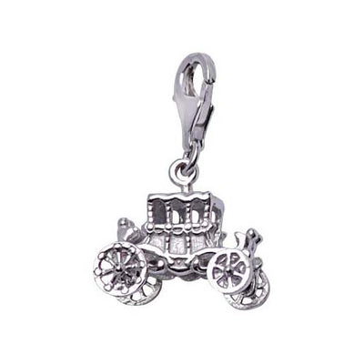 Sterling Silver Vintage Car Charm - SilverAndGold.com Silver And Gold