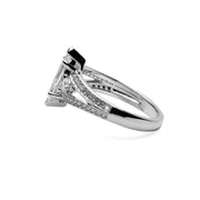Sterling Silver Marquise Cut Clear Cubic Zirconia Ring | SilverAndGold