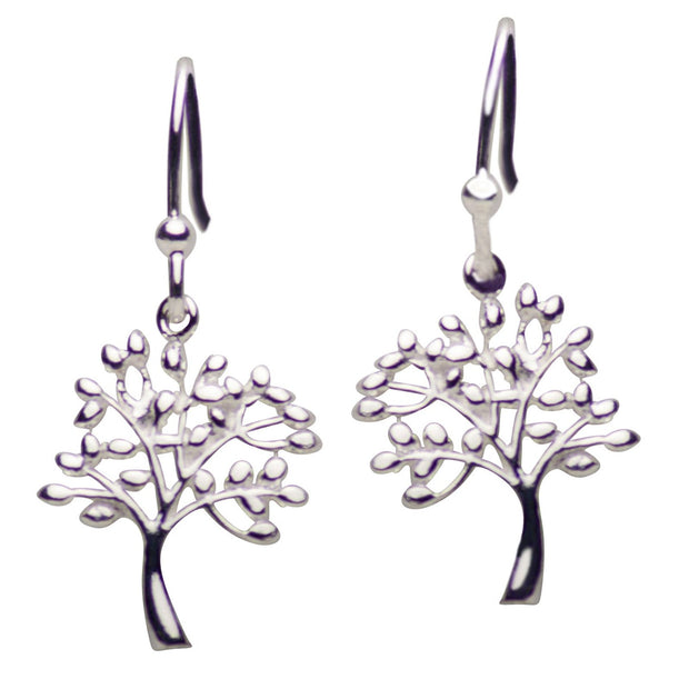 Sterling Silver Tree of Life Earrings | SilverAndGold