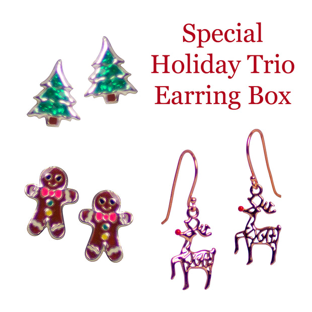 Special Holiday Trio Earring Box - Limited Time Only!