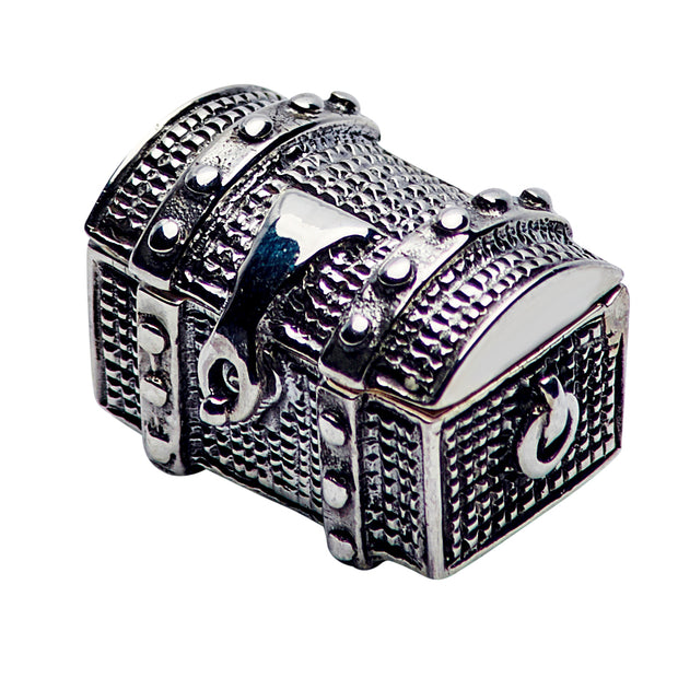 Miniature Treasure Chest Ring Display Box