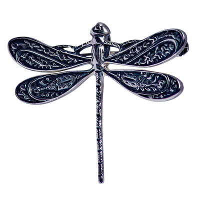 925 Sterling Silver Dragonfly Pin