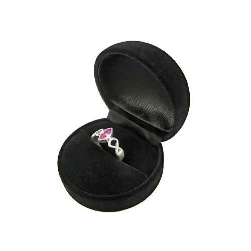 Silver and Pink Gemstone Ring - SilverAndGold.com Silver And Gold