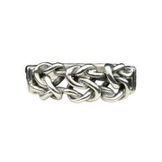 Sterling Love Knot Ring - SilverAndGold.com Silver And Gold