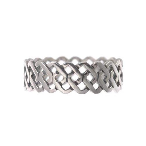 Silver Ring - Infinity Knots