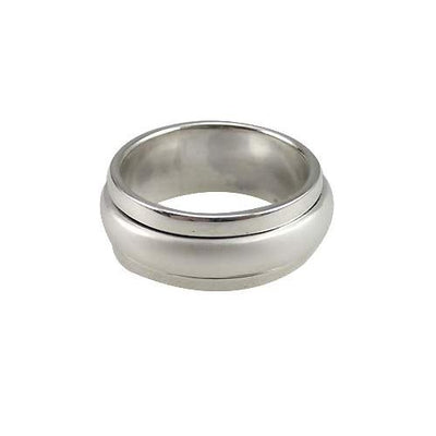 Silver Spinner Ring Secret Words of Love - SilverAndGold.com Silver And Gold
