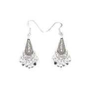 Sterling Silver Chandelier Earrings | SilverAndGold