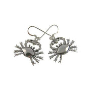 Silver Earrings: Crabs (Astrological Cancer) - SilverAndGold.com Silver And Gold