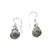 Sterling Silver Seashell Earrings | SilverAndGold