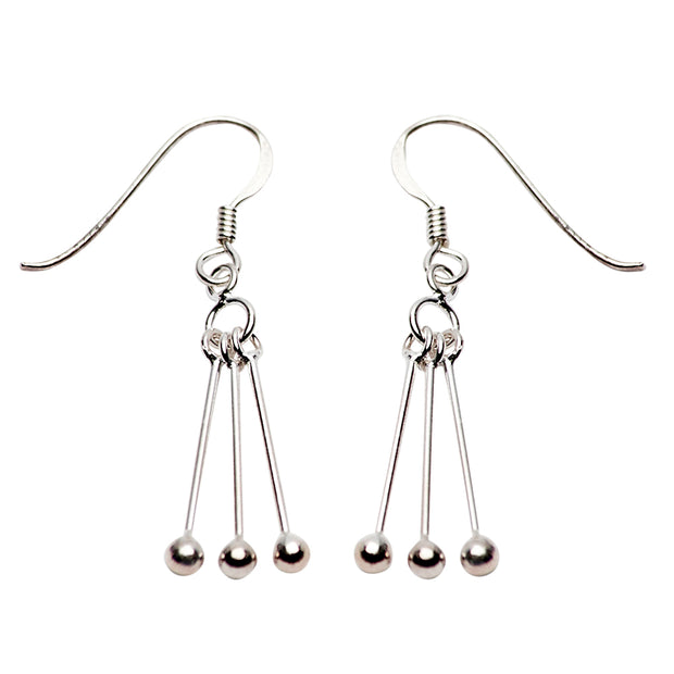 Sterling Silver Dangle Earrings | SilverAndGold