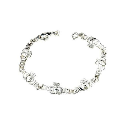 Silver Gaelic Friendship Bracelet - SilverAndGold.com Silver And Gold