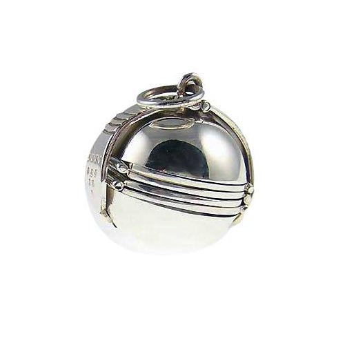 Sterling Pendant:: Large Photo Ball (6 Photos) - SilverAndGold.com Silver And Gold