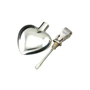 Sterling Perfume Locket Heart Necklace - SilverAndGold.com Silver And Gold