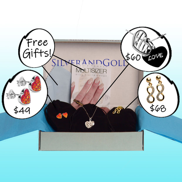 The Jewelry Box-12 Months ($30/month & free shipping)