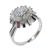 Sterling Silver & Cubic Zirconia Ring