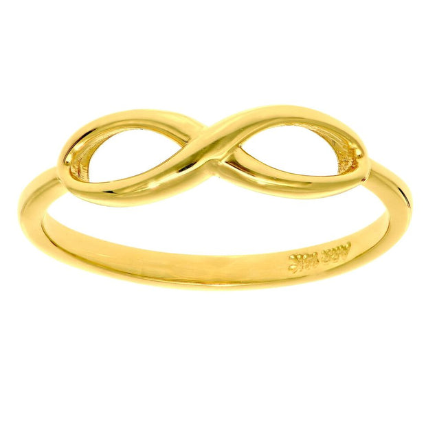 14K Yellow Gold Infinity Ring