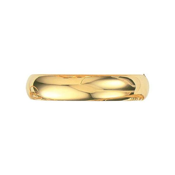 14K Yellow Gold 13.5 MM Classic Bangle